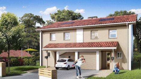 Maisons neuves Les Altheas investissement loi Pinel à Boucau