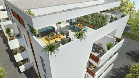 Appartement neuf Cubik éco-habitat à Perpignan