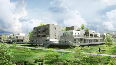 Appartements et maisons neuves L'Envol investissement loi Pinel à Ostwald