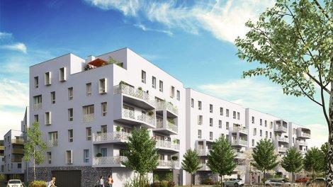 Appartements neufs Le Petit Bois de l'Ile des Pecheurs investissement loi Pinel à Ostwald
