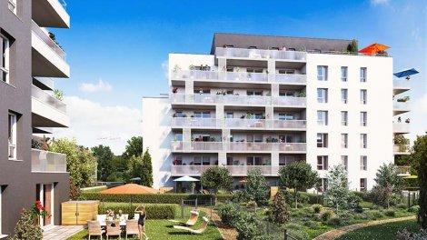 Appartement neuf Les Patios investissement loi Pinel à Lingolsheim