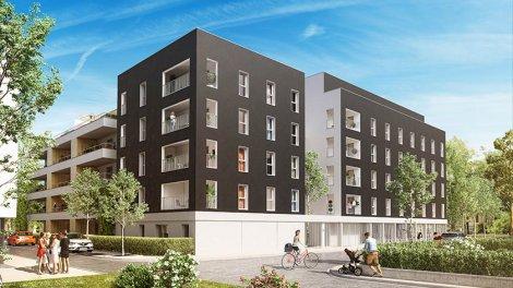 Appartements neufs Canopée investissement loi Pinel à Saint-Louis