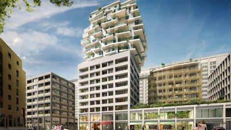 Appartement neuf Sky Avenue éco-habitat à Lyon 3ème