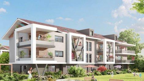 Appartement neuf Perspectiv investissement loi Pinel à Douvaine
