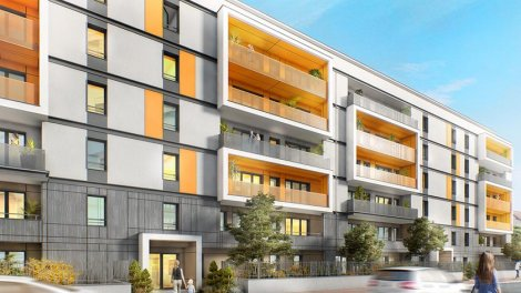 Appartement neuf D'Clic investissement loi Pinel à Annemasse