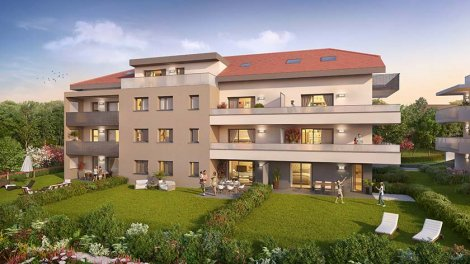 Appartement neuf Convergence investissement loi Pinel à Etaux