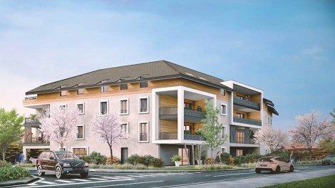 Appartement neuf Esquisse investissement loi Pinel à Douvaine