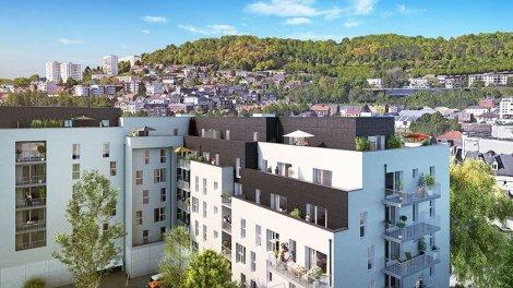 Appartement neuf Plein Ouest à Rouen