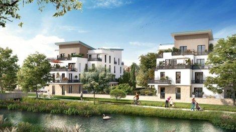 Appartements neufs Grand Canal II éco-habitat à Bois-d'Arcy