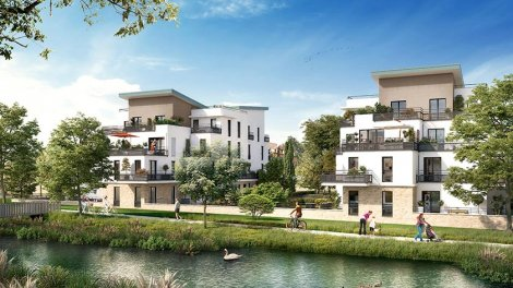 Appartement neuf Grand Canal II éco-habitat à Bois-d'Arcy