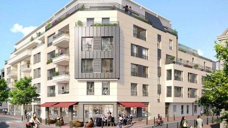 E 147 saint denis programme immobilier neuf for Acheter maison suresnes