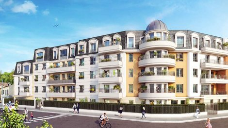 Appartement neuf Villa Princet investissement loi Pinel à Aulnay-sous-Bois