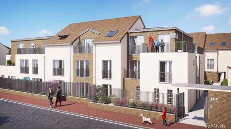 Appartements et maisons neuves Le Clos de la Marquise investissement loi Pinel à Livry-Gargan