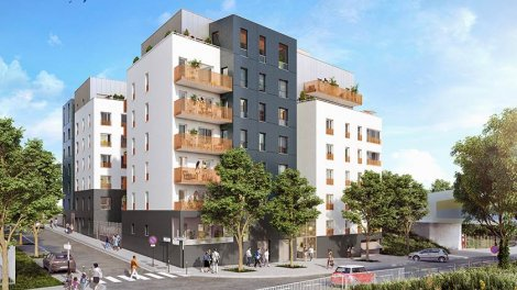 Appartement neuf Soprano investissement loi Pinel à Bobigny