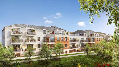 Appartement neuf L'Alchimie investissement loi Pinel à Verneuil-sur-Seine