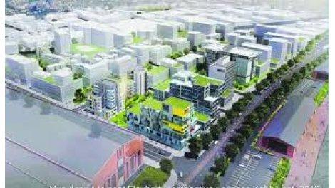 Investissement immobilier neuf rouen eco quartier docks - Cabinet immobilier rouen ...