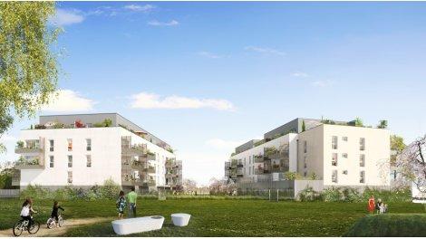 Appartement neuf Eco Quartier Rouen Rive Sud investissement loi Pinel à Le Petit-Quevilly