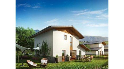 Maisons neuves Domancy C1 éco-habitat à Domancy