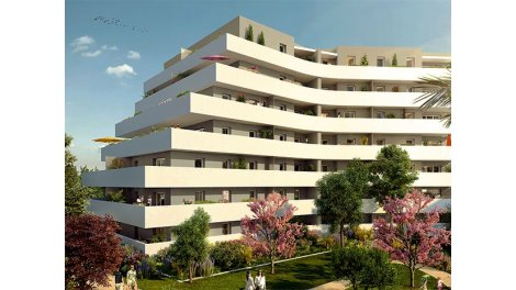 Appartement neuf Marseille 12ème C1 investissement loi Pinel à Marseille 12ème