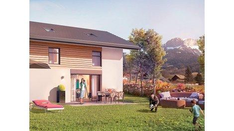 Maisons neuves Villaz C1 éco-habitat à Villaz