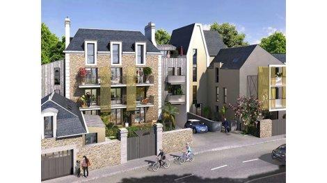 Appartement neuf Saint-Malo C1 éco-habitat à Saint-Malo