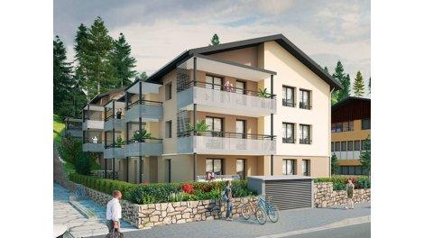 Appartement neuf Bonne C1 éco-habitat à Bonne
