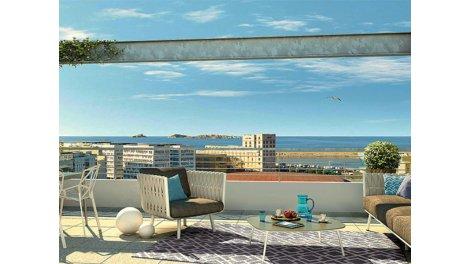 Appartement neuf Marseille 3ème C2 investissement loi Pinel à Marseille 3ème