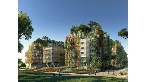 Appartement neuf Nice C2 investissement loi Pinel à Nice