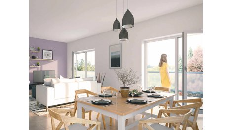 Appartement neuf Cluses C1 investissement loi Pinel à Cluses