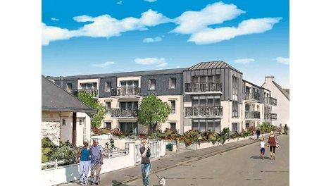 Appartement neuf Fouesnant C1 éco-habitat à Fouesnant