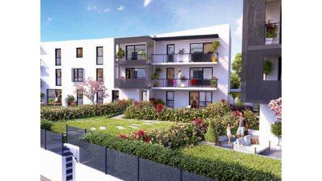 Appartement neuf Dijon C1 investissement loi Pinel à Dijon