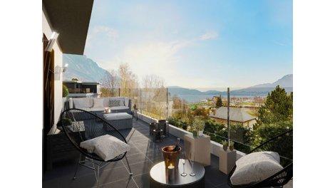 Appartement neuf Le Bourget-du-Lac C1 éco-habitat à Le Bourget-du-Lac