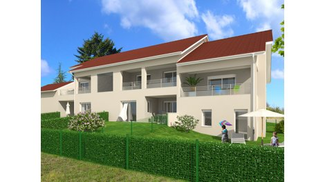 Appartement neuf Saint-Alban-de-Roche C1 investissement loi Pinel à Saint-Alban-de-Roche