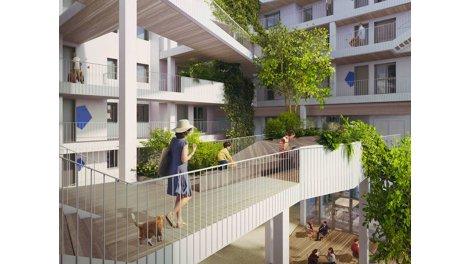 Appartement neuf Paris 13ème C1 éco-habitat à Paris 13ème