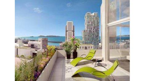 Appartement neuf Marseille 3ème C1 investissement loi Pinel à Marseille 3ème