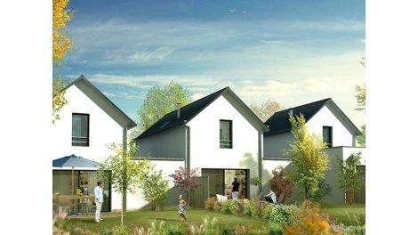 Maisons neuves Fouesnant C2 éco-habitat à Fouesnant