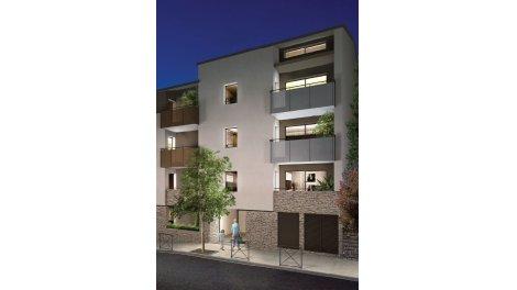 Appartement neuf L'Ecrin Saint Clément éco-habitat à Montpellier