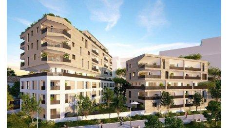 Appartement neuf Carré Vendôme éco-habitat à Montpellier