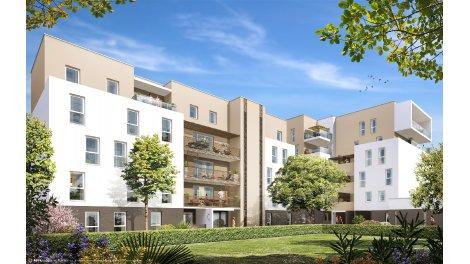 Appartement neuf Amplitude éco-habitat à Montpellier
