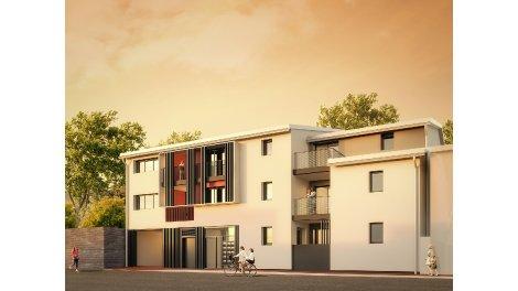 Appartement neuf Clos Boutonnet éco-habitat à Montpellier