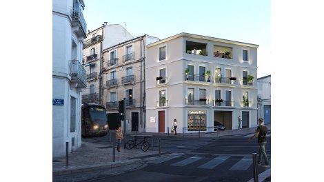 Appartement neuf Saint Roch Station éco-habitat à Montpellier
