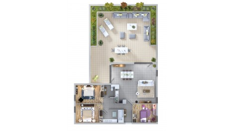 appartement neuf à Colomiers