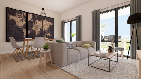 Appartement neuf Villa Monadey à Bordeaux