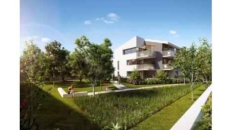 Appartements et villas neuves 45 Chartrons éco-habitat à Bordeaux