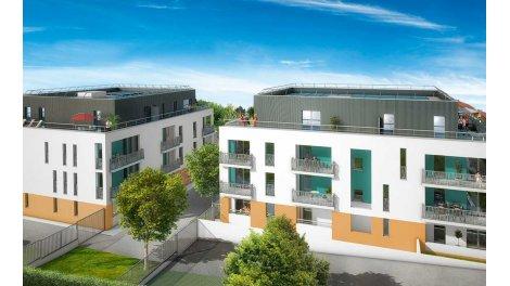 Appartement neuf Résidence Côté Jardin éco-habitat à Chanteloup-les-Vignes