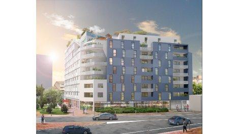 Appartement neuf Le Kub éco-habitat à Toulouse