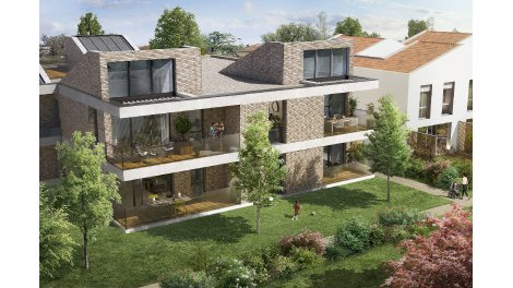 Appartements et villas neuves Via Veneta éco-habitat à Toulouse