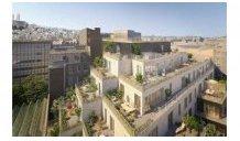 Appartements neufs Paris 18 éco-habitat à Paris 18ème