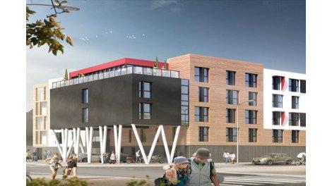 Appartements neufs Student la Rochelle A1 investissement loi Pinel à La Rochelle