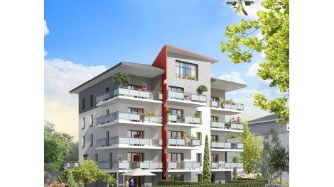 Appartement neuf Pictura éco-habitat à Albertville